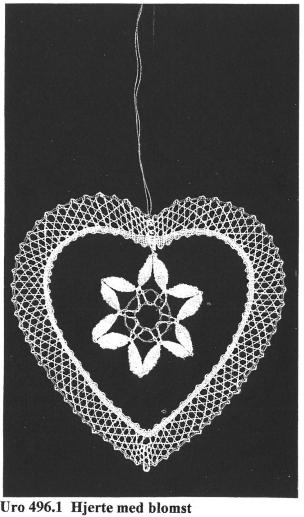 Hjerte med blomst